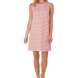 Jude Connally NWT Orange/White Striped MAYA Dress